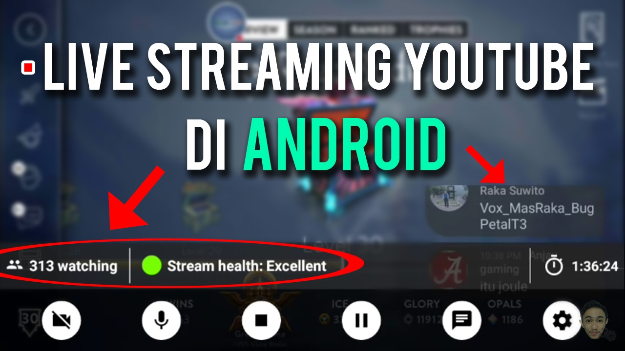 Cara Live Streaming Youtube Di Android