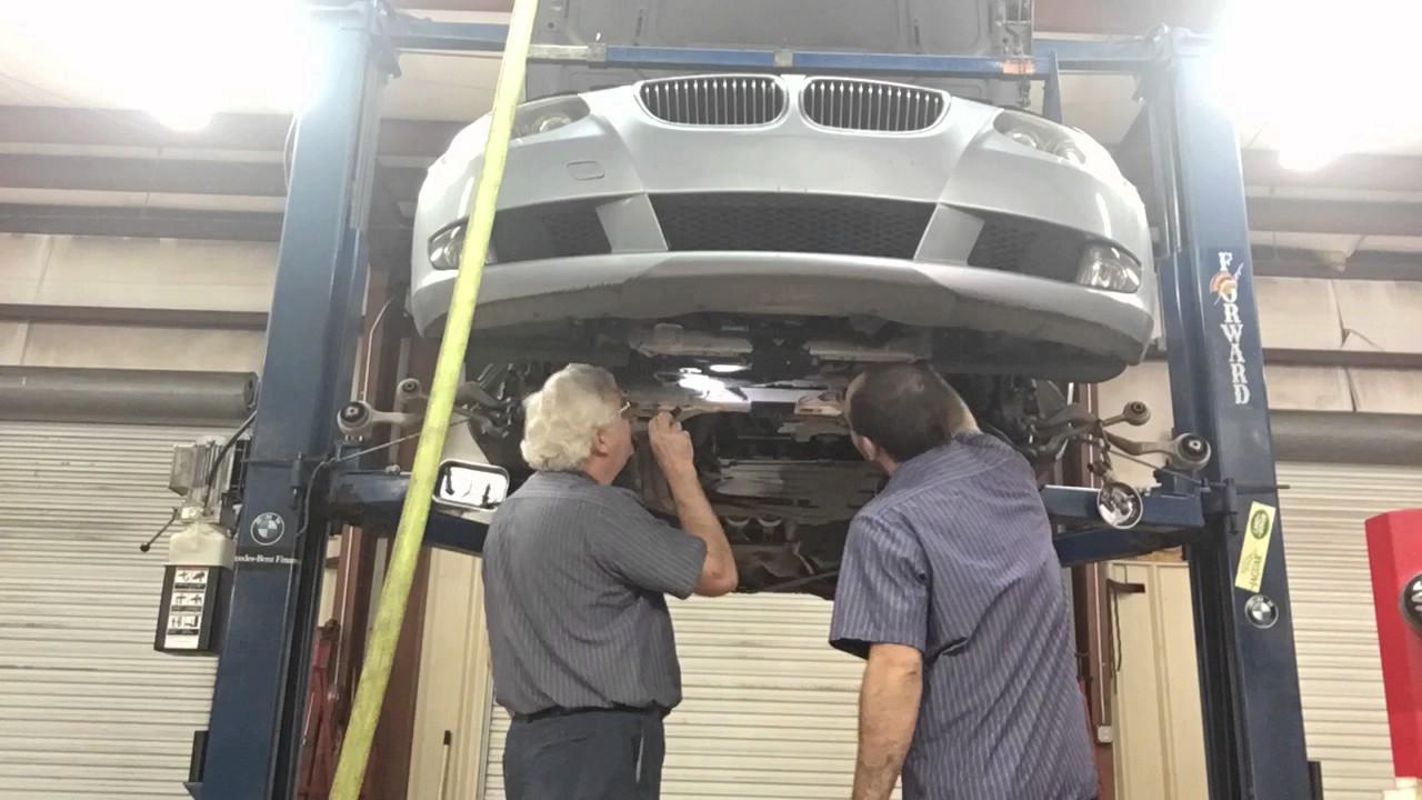 2010 BMW 328i Oil Pan Time Lapse (1)