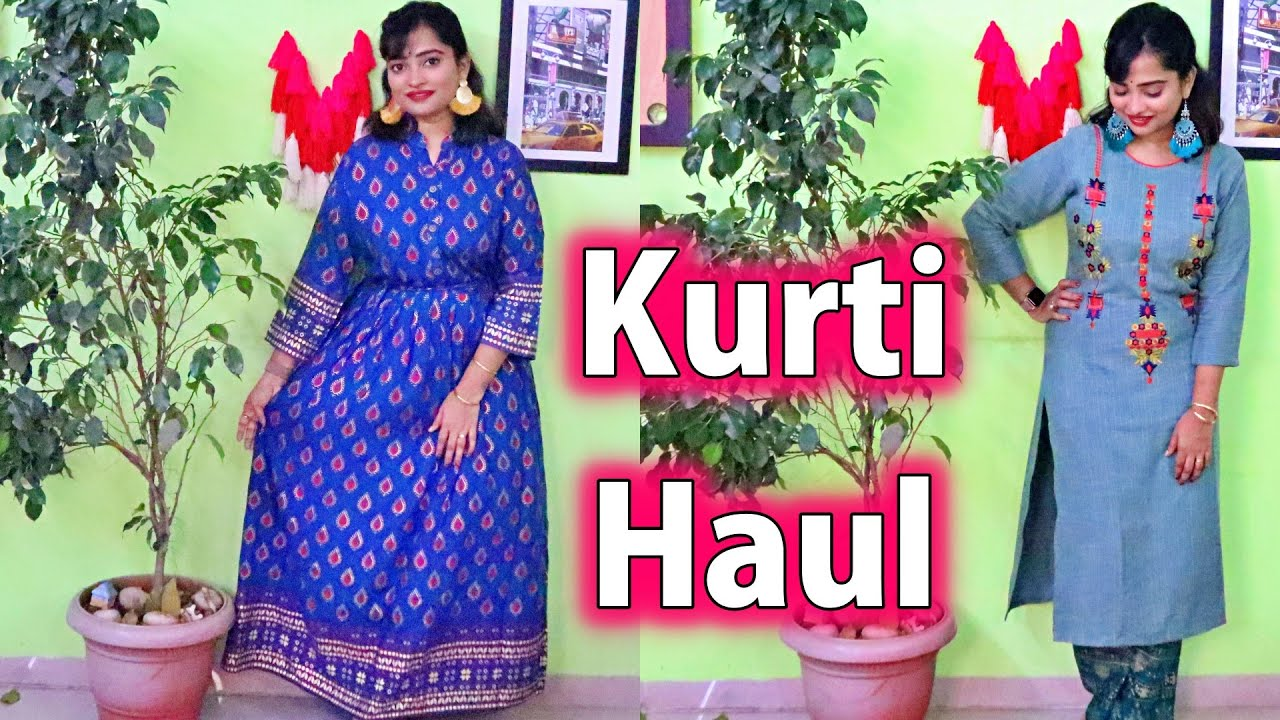 Designer Kurti Haul LATEST - How to Purchase from Instagram & Facebook Shops