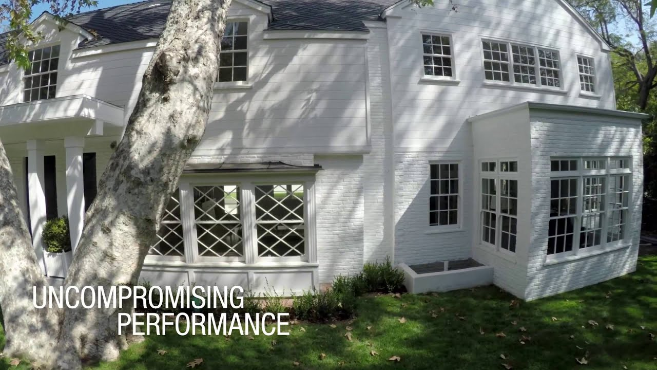 Hardy Board Siding >> Exterior Renovation of a Colonial Style Home with Artisan® V-Groove Fiber Cement Siding - YouTube