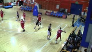 ALK Wro-Basket, 29. edycja. Piotr Widawski (TST Kogeneracja SA) blok