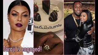 Engaged! l Congrats Taraji P. Henson l But he's a cheater sis!
