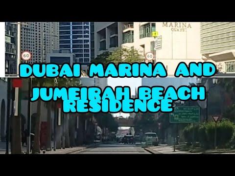 DUBAI TOUR FROM AL SUFUOH ROAD TO DUBAI MARINA AND JUMEIRAH BEACH RESIDENCE|
