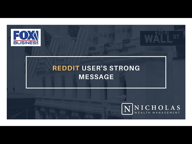 Reddit User's Strong Message