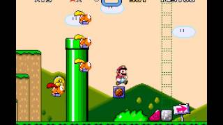 Super Mario World - Super Mario World Part 1 Casual Play - User video