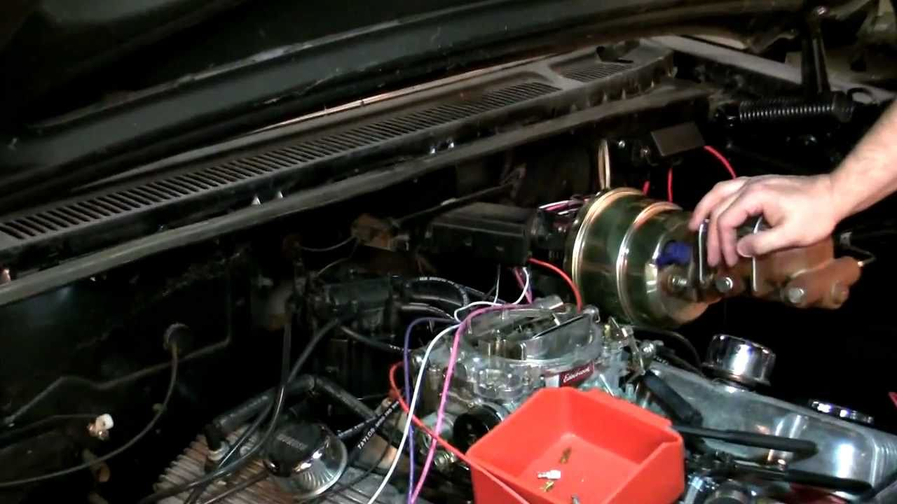 59 60 impala classic update kit part 5 engine harness installation59 60 impala classic update kit [ 1280 x 720 Pixel ]