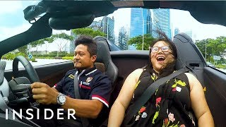 Ultimate Drive's Supercar Speed Challenge Around Singapore | No Limits