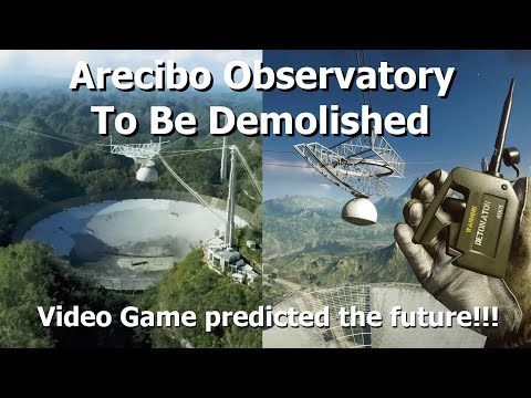 Worlds Largest Radar Astronomy Dish To Be Demolished!