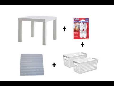 Wondermama[DIY] - Ikea Lack Hack DIY Lego Table
