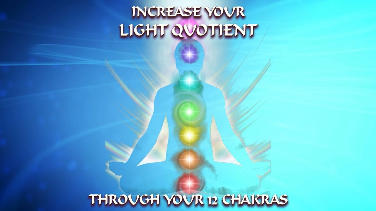 Repeat INCREASE Your LIGHT QUOTIENT Powerfully Through Your 12