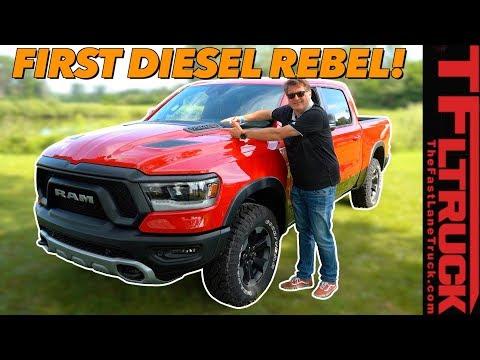 Diesel Is Back! 2020 Ram Rebel EcoDiesel Also Has These Three Surprises