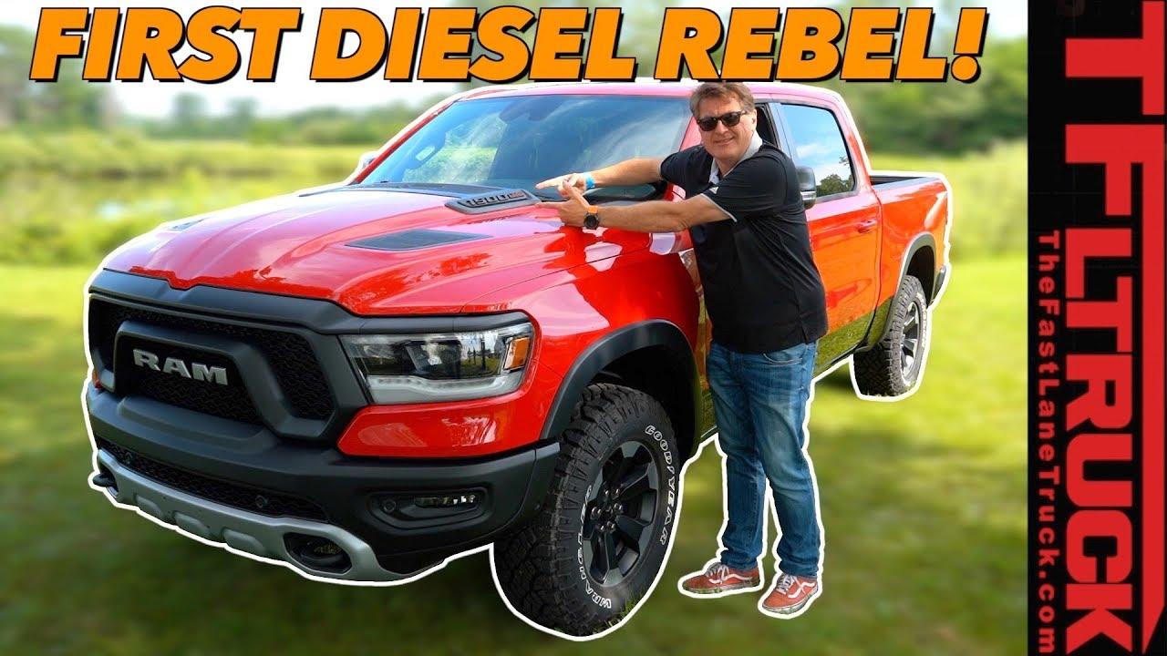 Diesel Is Back 2020 Ram Rebel Ecodiesel Also Has These Three