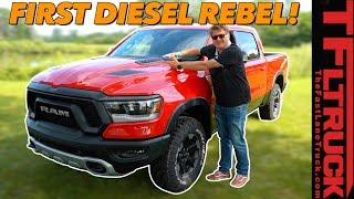 Diesel Is Back! 2020 Ram Rebel EcoDiesel Also Has These Three Surprises