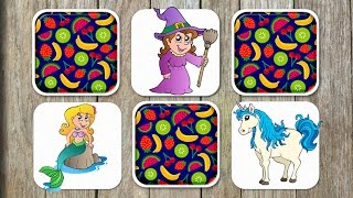 Fairytale Matching Game for Kids - App Gameplay Video