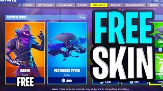 "How To Get ""Raven"" SKIN for FREE in Fortnite Battle Royale!"