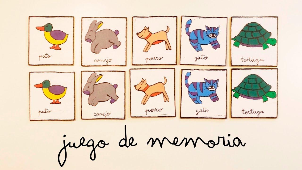 Animales Juego de Memoria de Madera 40 pzas DIDA