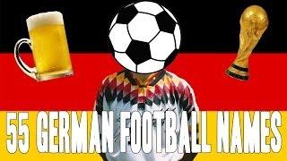 Top 55 German Football Names!    Copycatchannel