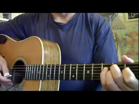 BROONZY: KEY TO THE HIGHWAY - Guitar Lesson By Michel Lelong