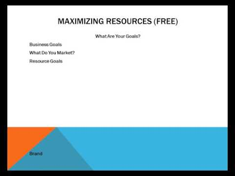 Maximizing Information Resources For Profit - Video 8 - Goals