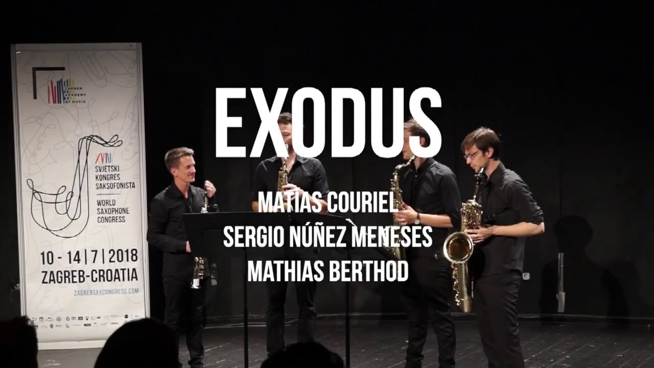 Exodus - RE/SONO Saxophone Quartet