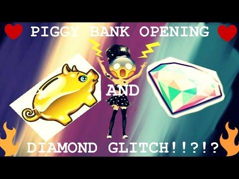 Piggy Bank Opening AND DIAMOND GLITCH?