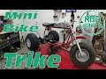 Coleman CT200U Mini Bike Trike Build Ep1 ~ Mini Bike Monday