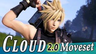 Cloud Strife 2.0 (Rework) Moveset + Detail - Dissidia Final Fantasy NT (DFFAC/DFFNT)