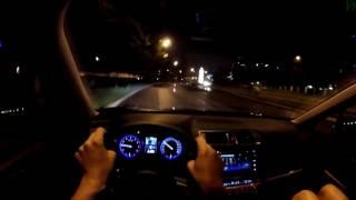 Subaru Outback - Ловим Покемонов в ночном движении (60p)