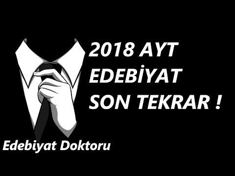 2018 AYT EDEBİYAT SON TEKRAR