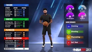 NBA 2K20 - MAKE THE BEST BUILD *MUST WATCH* | SECRET ARCHETYPE PLAYER BUILDS TIPS