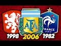 10 Best Teams To NEVER Win The World Cup!
