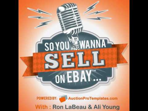 091: Andrew Rowson - So You Wanna Sell On eBay Podcast
