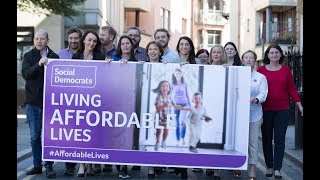 SocDems Think-In 2018 - Living Affordable Lives