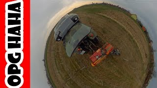 (2019) Complete orchard maintance | Deutz Fahr Orchard Tractor | Mulching, manure spreading, tilling Video