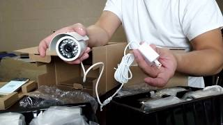 Unboxing: Zmodo 1080p 8 Channel Home Security Camera System