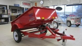 FINISH LINE MINI DUMP TRAILER AWESOME LITTLE THING, BIG CAPACITY 4 sale