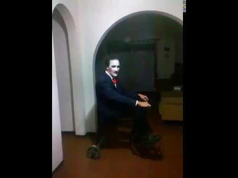 Triciclo Saw Juego Del Miedo Disfraz Youtube
