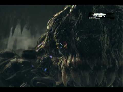 Gears of war 2 fish boss battle act 3 chapter 6 youtube for Battle fish 2