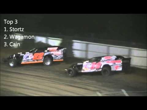 Battle Zone JB Stortz and Clayton Wagamon at Princeton Speedway 8/30/12