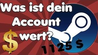WAS ist dein DEIN Steam Account wert? FINDE ES HERAUS! | 1125 EURO bei mir