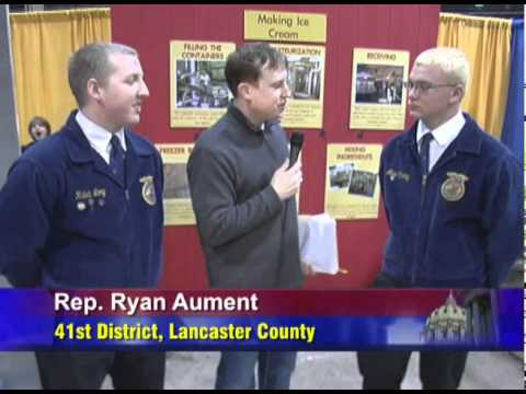 5 Minutes with Rep. Ryan Aument Featuring Local FFA Members
