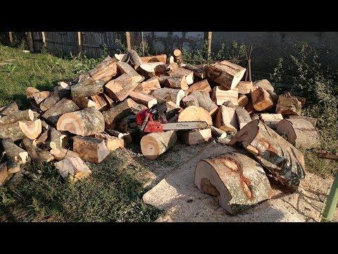 Zenoah GZ7000 (Husky 570) La taiat 3m de lemne
