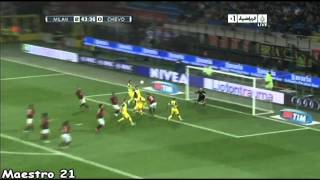 Highlights AC Milan 3-1 Chievo - 16/10/2010