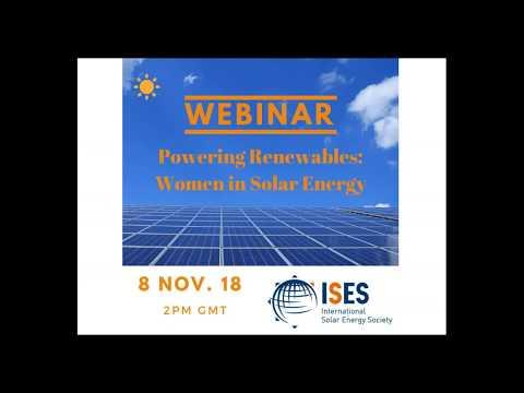Webinar: Powering Renewables - Women in Solar Energy