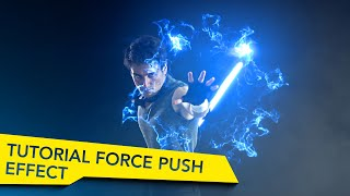 After Effects Force Push Tutorial - Star Wars VFX Academy # 2