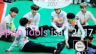 Video Kpop idols isac 2017 (Bts,Exo, got7, seventeen, and..) download MP3, 3GP, MP4, WEBM, AVI, FLV April 2018