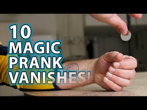 10 KILLER Magic Prank VANISHES!!