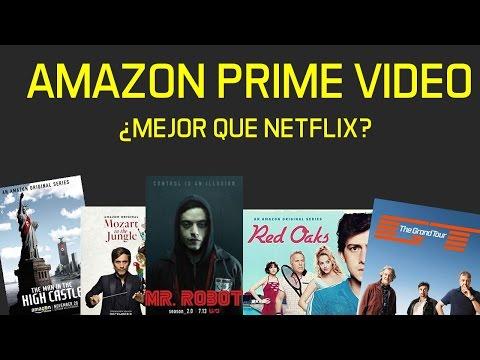 Experiencia con PRIME VIDEO  de Amazon ¿Vale la pena?  ¿Competencia de Netflix?