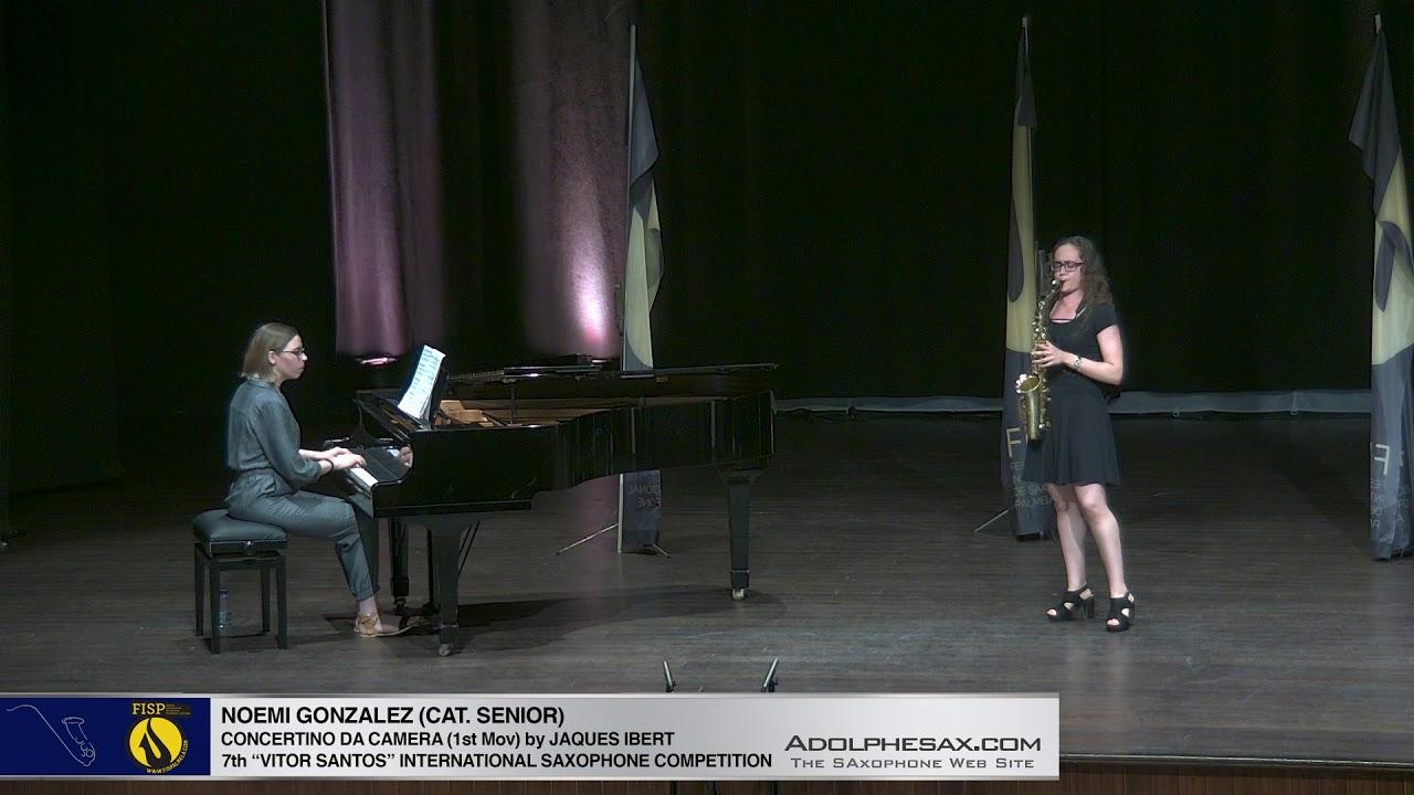 FIS Palmela 2019   Noemi Gonzalez   Concertino da Camera by Jaques Ibert 1st Mov
