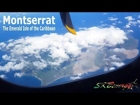 Montserrat seen from above !!!! Liat ATR 72-600